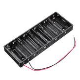 Pudełko na baterie AA z 10 gniazdami Uchwyt na baterie do 10 baterii AA Zestaw do samodzielnego montażu