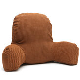 Back Waist Rest Pillow Plush Cotton Support Cushion Reading Lounger Arm Home Office