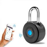 Bluetooth Smart serratura Anti Allarme antifurto serratura per porta moto da ciclismo con controllo APP