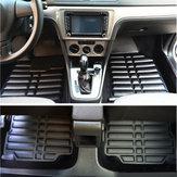 3 Pcs PU De Couro Full-Enked Car Floor Front Front Liner À Prova D 'Água para Kia Optima 2011-2016