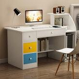 Bureau d'ordinateur portable bureau d'étude d'écriture étagère de bureau poste de travail étagère d'ordinateur support de rangement avec tiroirs meubles de bureau à domicile