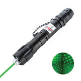 009 Green Laser Pointer Pen Long Shots Lasting Chargeable PPT Laser Page Pen Light Adjust with Pen Clip