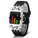 TVG 2231 Binary LED Display Creative Watch Fashionable Electronic Digital Watches