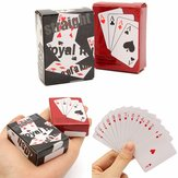 Kleine Mini Miniatuur Reis Pocket Playing Poker Cards
