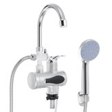 Instant Electric Faucet Tap Hot Water Heater LED Display Bathroom Kitchen