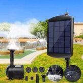 1,8 Вт Солнечная Фонтан Насос с питанием от панели для пруда Бассейн Сад На открытом воздухе Погружные спринклеры Сад