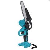 Scie à chaîne électrique sans fil Doersupp 6 pouces scie à chaîne 3000W Mini coupe-bois à bois scies à une main pour Makita 18-21V Batterie
