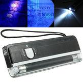 2 in 1 tragbare UV-Licht Handheld Gelddetektor Taschenlampe