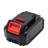 20V Li-Ion Replacement Battery 6.0Ah Replaceable Power Tool Battery Compatible For Dewalt DCB200 Power Tool