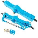 Racerstar 2PCS Front Rear Bridge Axle Set for WPL Heng Long JJRC 1/16 Rc Car Upgrade Spare Parts