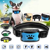 Dog Training Collar Anti Bark Electric Shock Vibration Remote With Customized Audio Commands for Pet Dog Training Collar