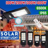 140/160/324 / 392LED 100/200/300 / 400W LED panneau solaire réverbère PIR capteur de mouvement applique murale + maison à distance
