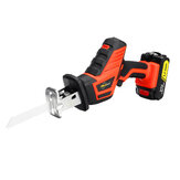 12V/16.8V/21V Reciprocating Saw Kit 2 Lithium Batteries 1 Charger Electric Saw Wood Work Stepless Speed Saws