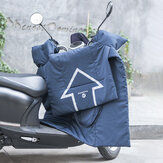 ROCKBROS Electric Bike Windproof Quilt Thicken Electric Motorcycle Cushion Keep Warm Waterproof Mat E-bike Accessories
