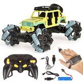 2.4G 4WD 1/18 Off-road Drift RC Car Veículos Caminhão Brinquedos Para Crianças Metal Car Shell