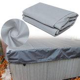 DeLuxe Schutzkappe für Whirlpool-Abdeckungen schützt das Bad vor dem Wetter