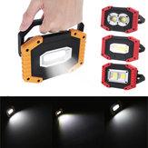 Xmund 30W USB LED COB屋外3モード作業灯キャンプ緊急ランタン懐中電灯スポットライトサーチライト
