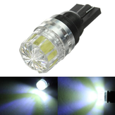 White T10 5050 SMD LED Car Side Tail Lights Bulbs 12V