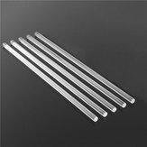 5Pcs Transparent Acrylique Round Rod 0.8cm Diamètre 30cm Longueur Solid Acrylic Rod