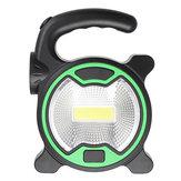 AoarlivrePortátilCOBLED Luz de Trabalho Lanterna Camping Lanterna de Luz de Inundação De Emergência