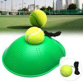 Treinamento de Tênis Ferramenta Rebote Instrutor Self-study Exercise Ball Rodapé Holder
