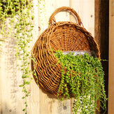Flower Planter Wall Hanging Basket Sier Vazen Tuin Outdoor Indoor Holder Home Decoration