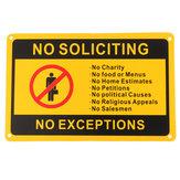 28x18cm Sin solicitud Sin excepciones Etiqueta de advertencia de seguridad de la señal de la puerta delantera Impermeable