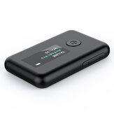 AILD Color OLED Display bluetooth Adapter Dongles Wireless bluetooth Audio Transmitter Receiver HiFi Adapter YET-T2