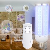50W UV Germicidal Lamp AC85-245V E27 LED UVC Light Bulb + Timer Remote Control AC110V/220V