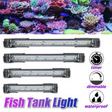 50/40/30/20 CM 100-240V Aquarium Fish Tank Light Waterproof Lamp Adjustable Length Dimmable Timer