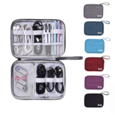 Original              Travel Digital Storage Bag Closet Organizer Case for Headphones Storage Bag Portable Zipper Charger Data Cable USB Cosmetics