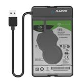 MAIWO K105 2.5'' USB 3.0 Hard Drive Enclosure SATA Solid State Drive Case Tool Free for below 9.5mm SSD HDD