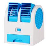 USB Mini Portable Desktop Air Conditioner Small Fan Cooling Humidifier Cooler