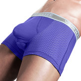 Scrotum Separation Boxer Briefs Malla transpirable Ropa interior