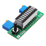 3pcs Green LM3914 Battery Capacity Indicator Module LED Power Level Tester Display Board