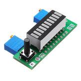 3 stücke Grün LM3914 Batterie Kapazitätsanzeige Modul LED Power Level Tester Anzeigetafel