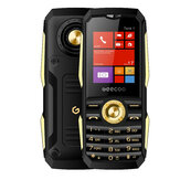 GEECOO Tank 1 1.8inch 1700mAh Bluetooth FM Dual SIM Card Caratteristiche Dual Standby Telefono robusto