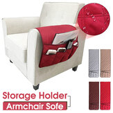 Waterproof 5-Pocket Armchair Sofa Chair Storage Bag Mobile Phone Couch Organizer