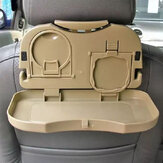 Car Meal Plate Cup Holder Tray/Car Backseat Food Tray with Bottle Cup Holder
