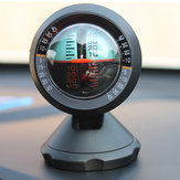 Auto Outdoor Inclinometer Winkel Steigung Meter Balancer Messen Multifunktions Elektronische Auto Kompass
