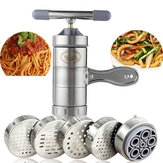 Noodle Maker Manual Press Machine Pasta Spaghetti Fruit Juicer Stainless Steel