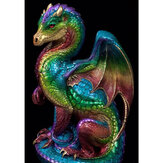 5D DIY Diamond Painting Dragon Monster Art Craft Kit Handmade Wall Decorations Gifts for Kids Adult