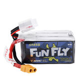 Bateria Lipo TATTU Funfly Series 22,2V 1550mAh 100C 6S do modelu RC