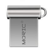 MORIC 32G 64G USB 2.0 Mini Flash Drive Memória Disco Pen Prive USB Disk Portable Metal USB Drive