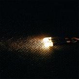 Feiyue الأصفر rc سيارة LED ضوء ل 1/12 FY03 FY04 FY05 FY06 1/10 HG rc نموذج أجزاء ⌀5mm