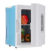 10L Coche Frigorífico Dormitorio pequeño Refrigerador Mini refrigerador Coche Hogar de doble uso