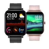 [Monitor de imunidade] Bakeey F22 1,4 polegadas HD Pulseira de tela SPO2 Coração Monitor de pressão arterial Monitor de pressão personalizado Dial Weather Display Smart Watch