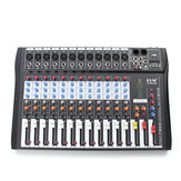 EL M CT-120S 12 canales Professional Live Studio Mezclador de audio Power USB Mixing Console