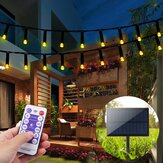22M 200 LED Solar Powered Fairy String Light Party Christmas Decor Garden Điều khiển từ xa ngoài trời