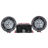 12V Motorcycle MP3 Speaker Audio Remote Sound System ATV UTV bluetooth Support SD USB MP3 FM Radio with Equalizer